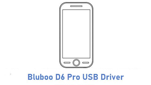 Bluboo D6 Pro USB Driver