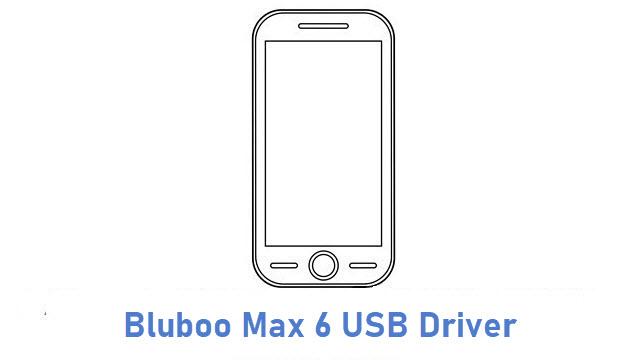 Bluboo Max 6 USB Driver