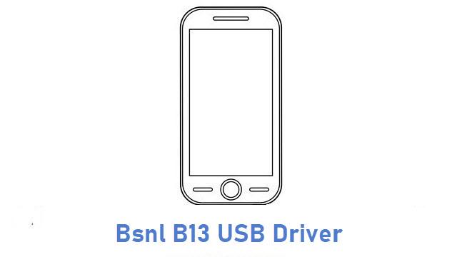 Bsnl B13 USB Driver