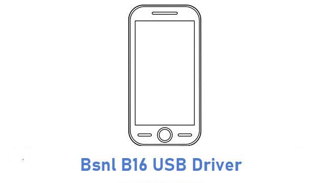 Bsnl B16 USB Driver