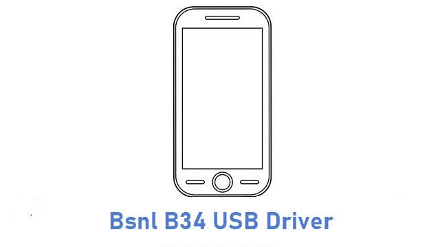 Bsnl B34 USB Driver