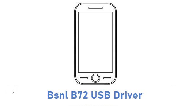 Bsnl B72 USB Driver