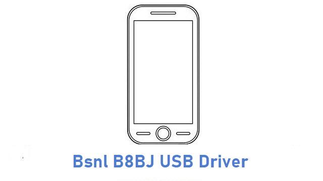 Bsnl B8BJ USB Driver