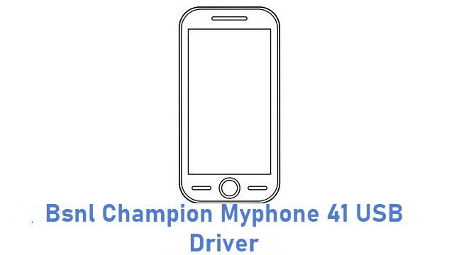 Bsnl Champion Myphone 41 USB Driver