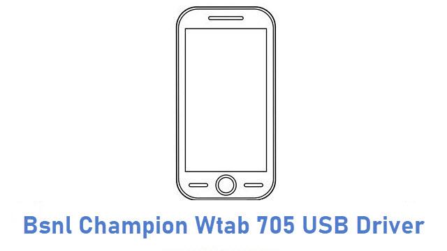 Bsnl Champion Wtab 705 USB Driver