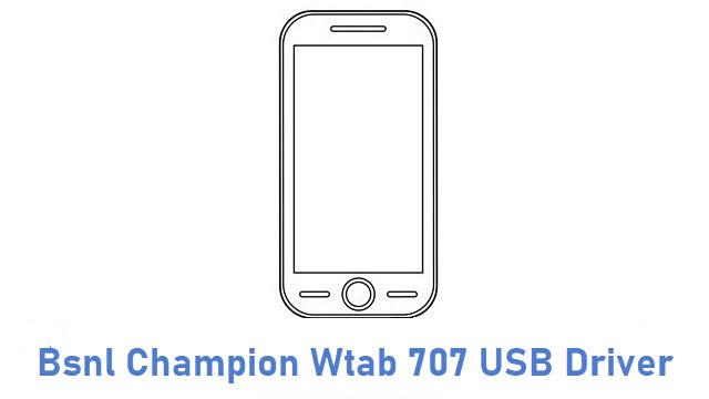 Bsnl Champion Wtab 707 USB Driver