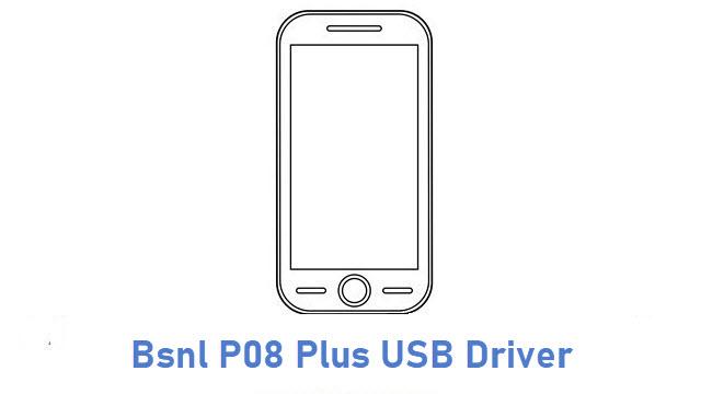 Bsnl P08 Plus USB Driver
