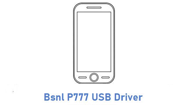 Bsnl P777 USB Driver