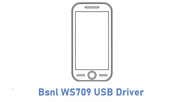 Bsnl WS709 USB Driver