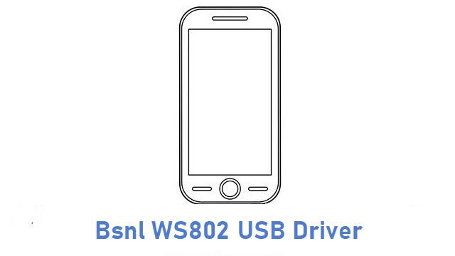 Bsnl WS802 USB Driver
