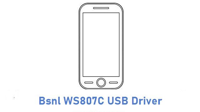 Bsnl WS807C USB Driver