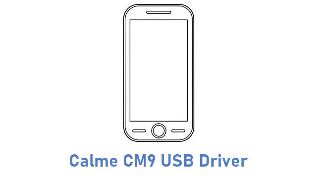 Calme CM9 USB Driver