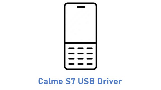 Calme S7 USB Driver