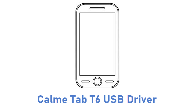 Calme Tab T6 USB Driver