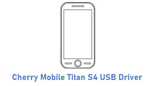 Cherry Mobile Titan S4 USB Driver