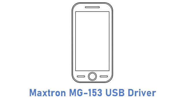 Maxtron MG-153 USB Driver