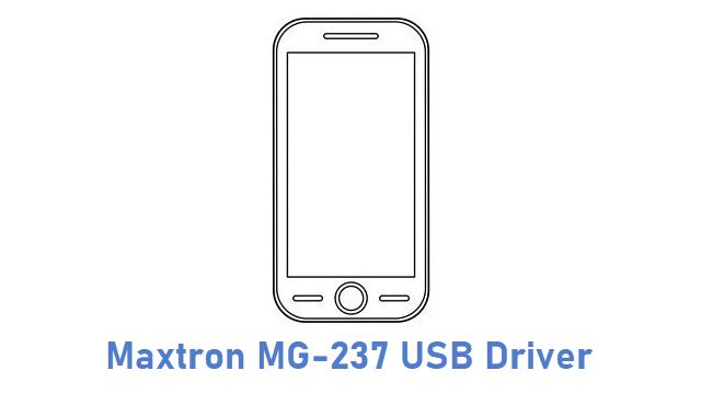 Maxtron MG-237 USB Driver
