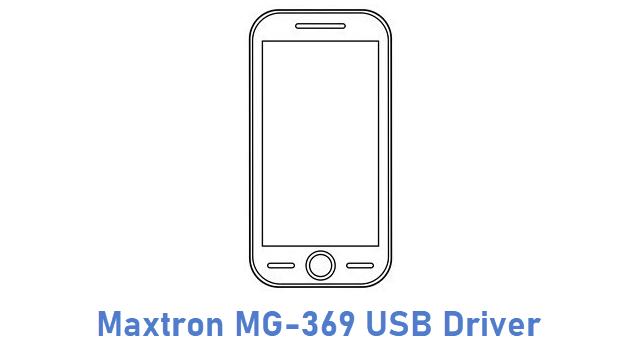 Maxtron MG-369 USB Driver