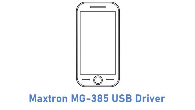 Maxtron MG-385 USB Driver