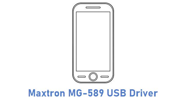 Maxtron MG-589 USB Driver