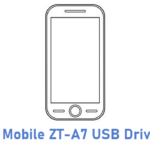ZT Mobile ZT-A7 USB Driver
