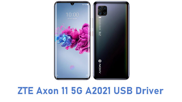 ZTE Axon 11 5G A2021 USB Driver