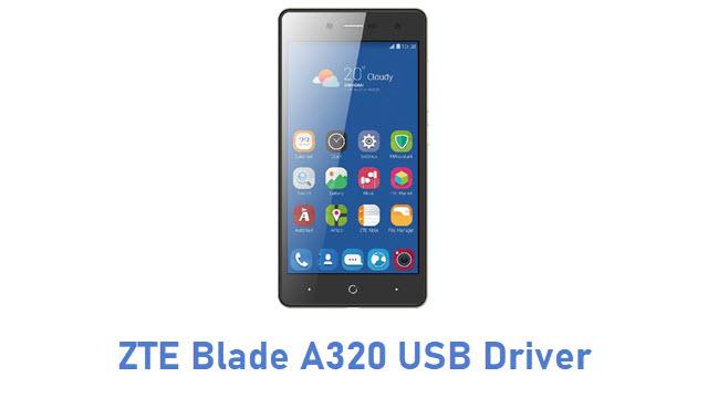 ZTE Blade A320 USB Driver