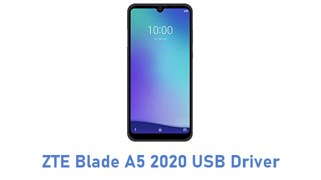 ZTE Blade A5 2020 USB Driver