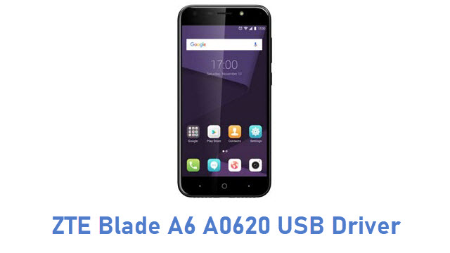 ZTE Blade A6 A0620 USB Driver
