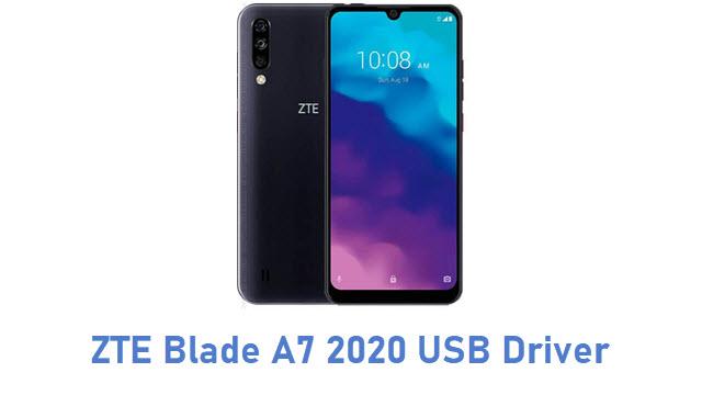 ZTE Blade A7 2020 USB Driver