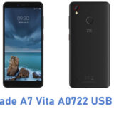 ZTE Blade A7 Vita A0722 USB Driver