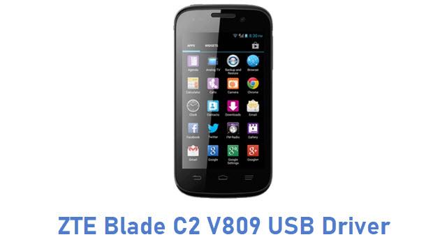 ZTE Blade C2 V809 USB Driver