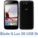 ZTE Blade Q Lux 3G USB Driver