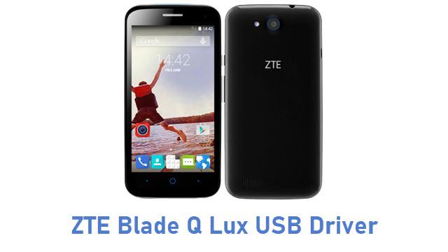 ZTE Blade Q Lux USB Driver