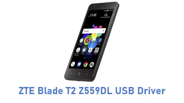 ZTE Blade T2 Z559DL USB Driver
