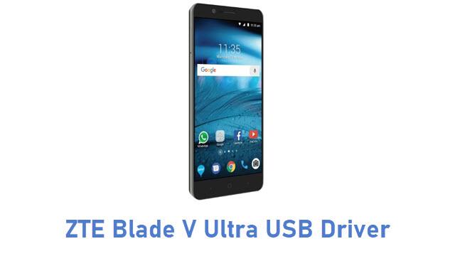 ZTE Blade V Ultra USB Driver