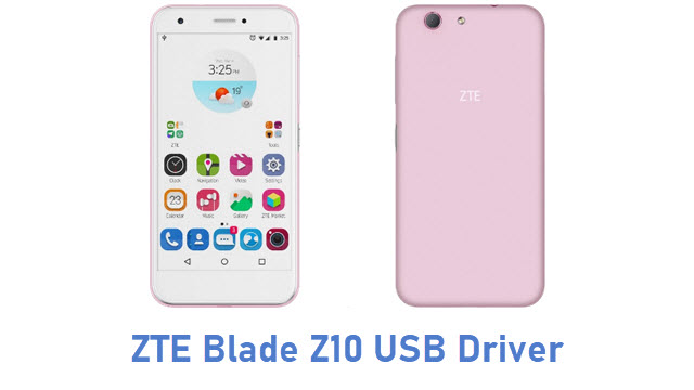 ZTE Blade Z10 USB Driver