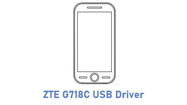 ZTE G718C USB Driver