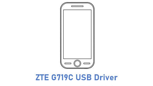 ZTE G719C USB Driver