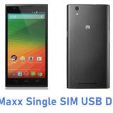 ZTE Maxx Single SIM USB Driver