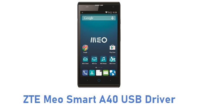 ZTE Meo Smart A40 USB Driver