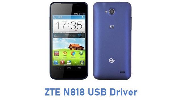 ZTE N818 USB Driver