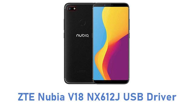 ZTE Nubia V18 NX612J USB Driver