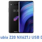 ZTE Nubia Z20 NX627J USB Driver