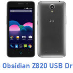 ZTE Obsidian Z820 USB Driver