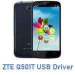 ZTE Q501T USB Driver