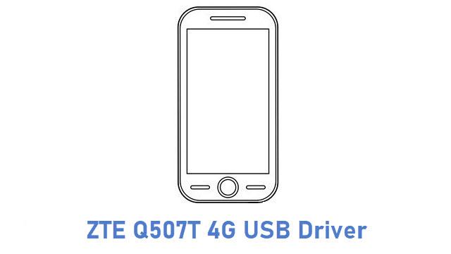 ZTE Q507T 4G USB Driver