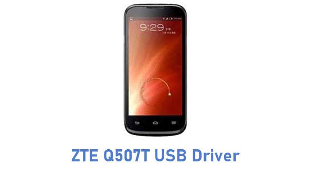 ZTE Q507T USB Driver