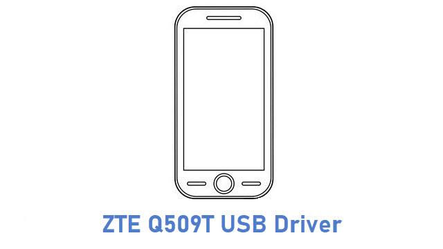 ZTE Q509T USB Driver
