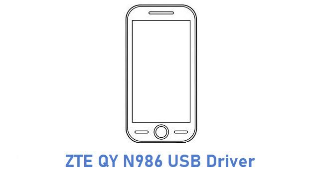 ZTE QY N986 USB Driver